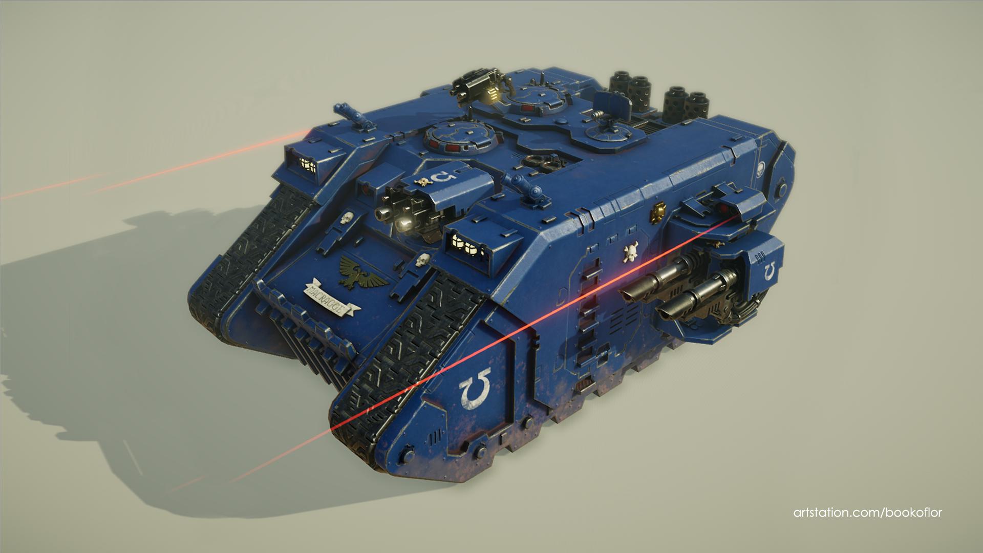 40k Landraider