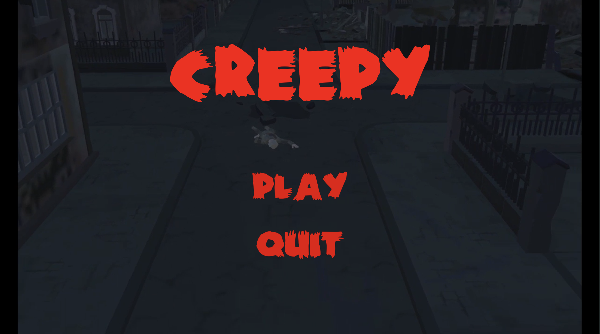 Creepy mobile game