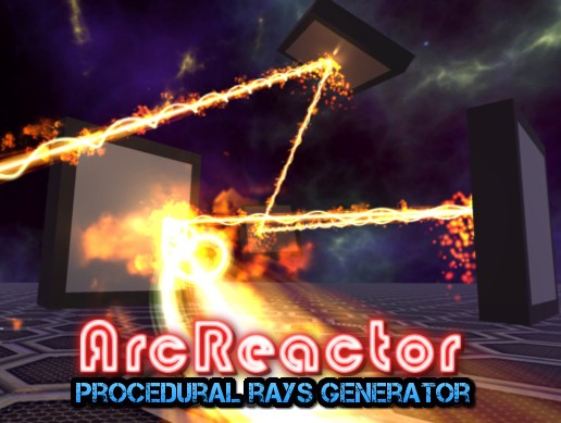 ArcReactor procedural ray generator