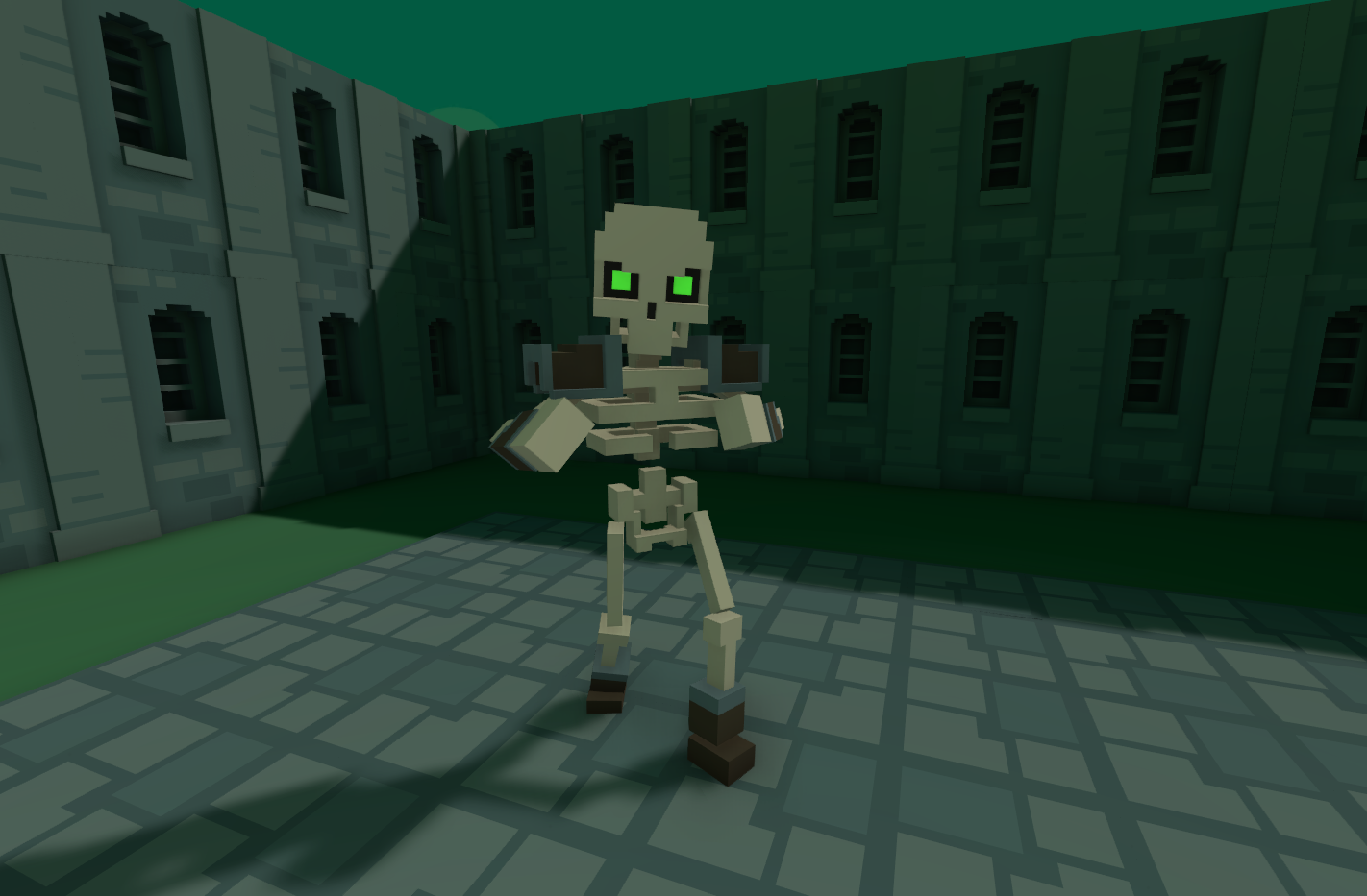 Voxel Dungeon Crawler Test