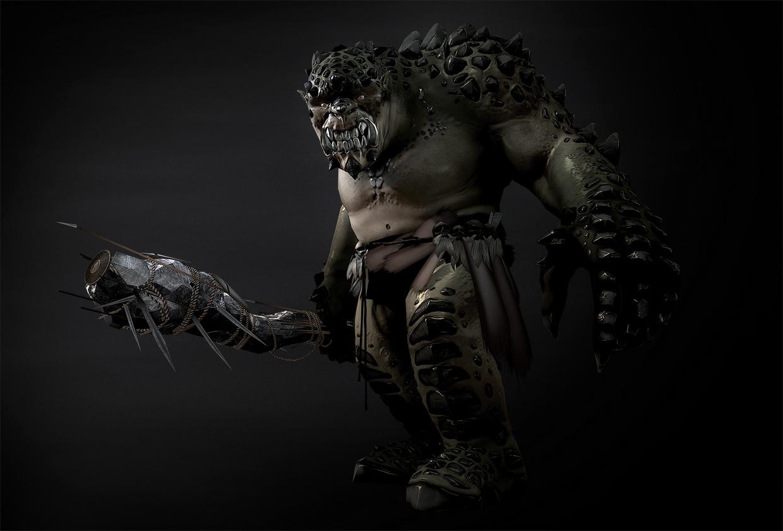 Cave Troll Model