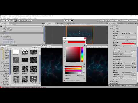 2D parallax shader in ShaderForge