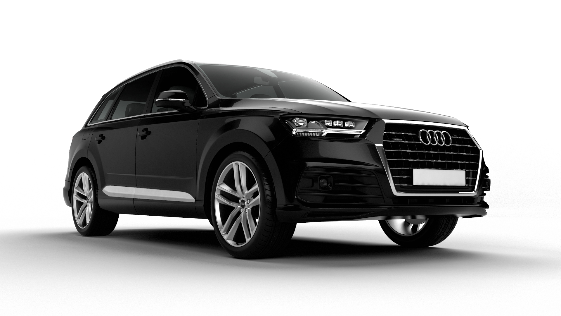 Audi Q3,Q7 Modelling and Renders