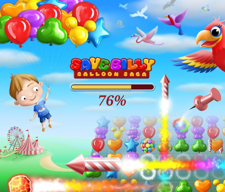 Save Billy - Balloon Squash