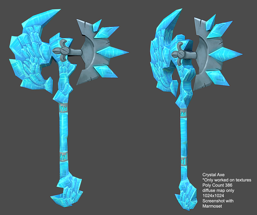 Crystal Axe