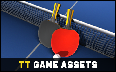 Table Tennis Game Assets