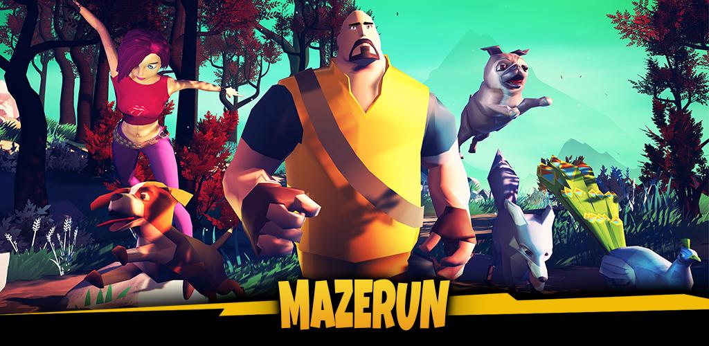 MazeRun: Pets and parkour