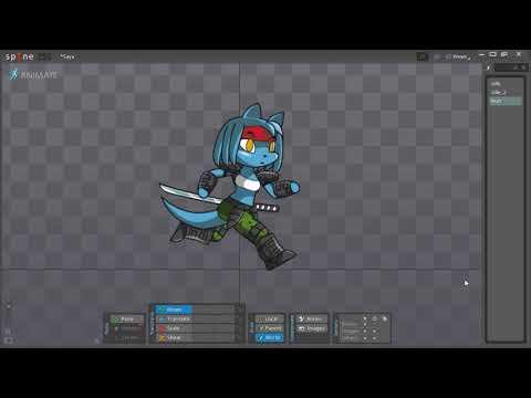 Saya's animation test - N.U.T.Z. game