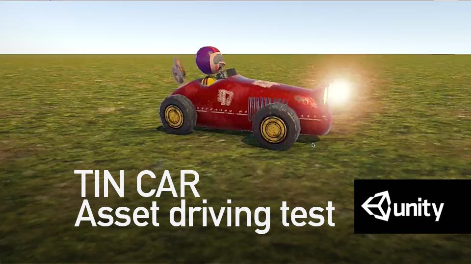 W.I.P - Tin Toy Race car