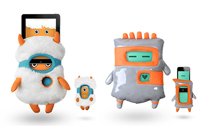Totoya Creatures (iPad / iPhone kids app with soft toys)
