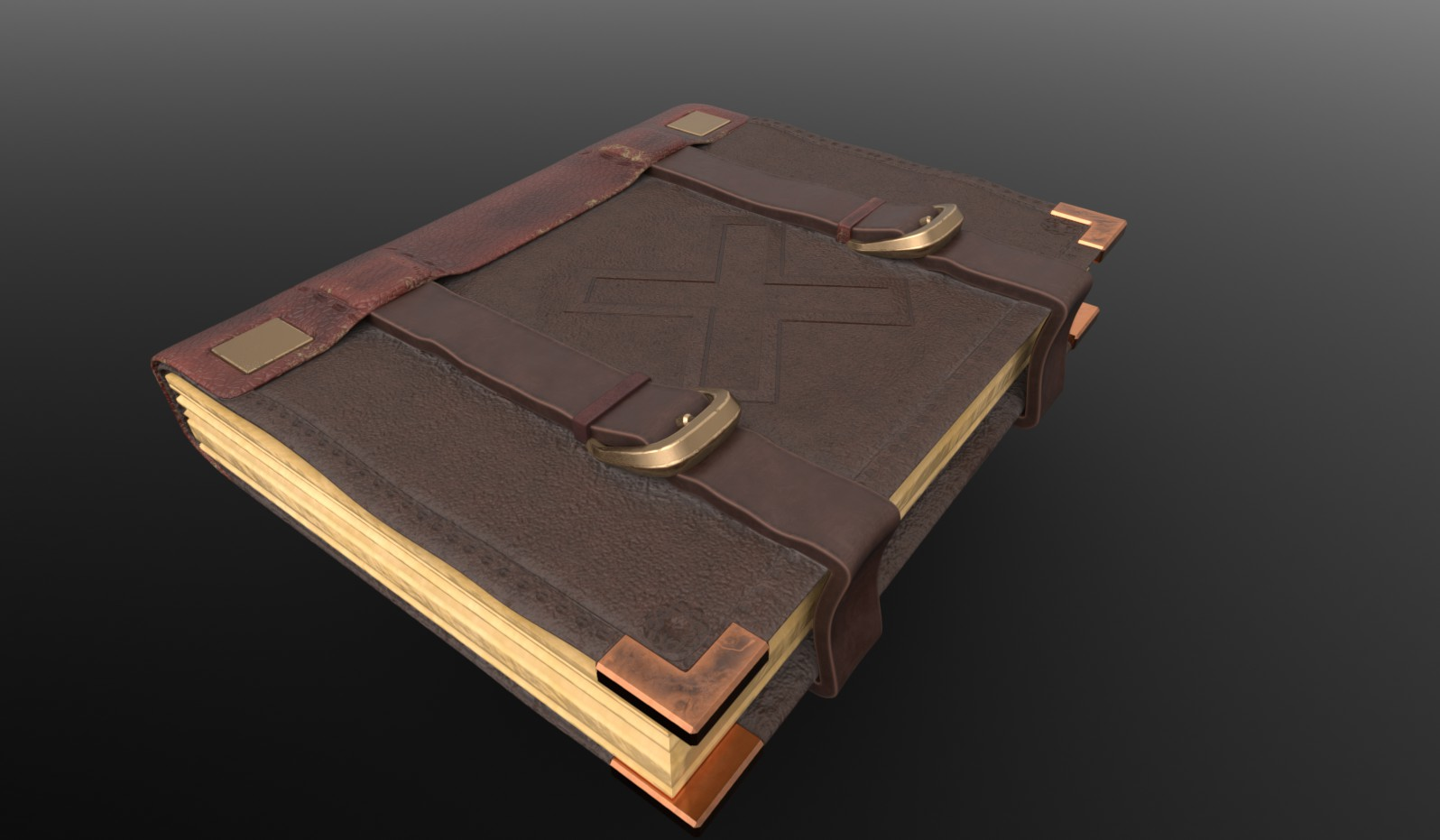 Old Leather Medic Book