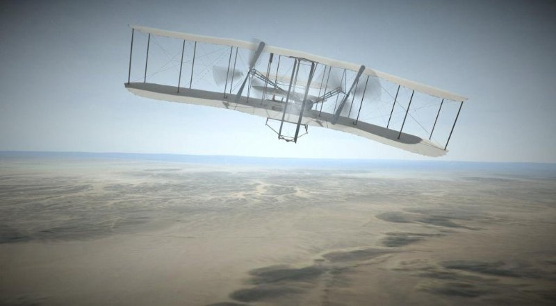 VR/Web Interactive: Wright Flight
