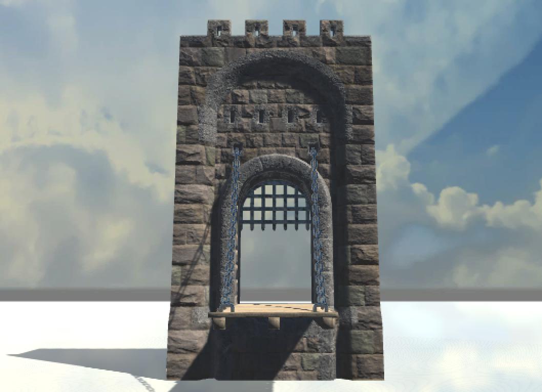 Castle Drag&Drop Assets