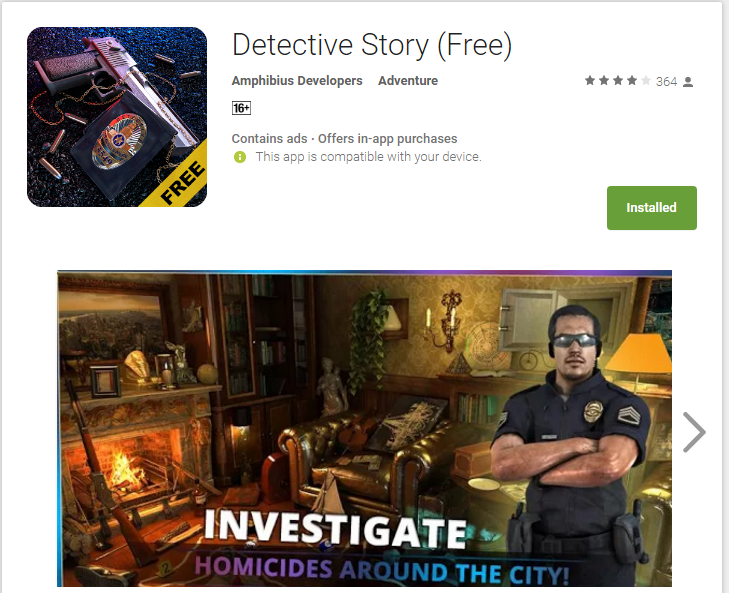 Detective Story (free)