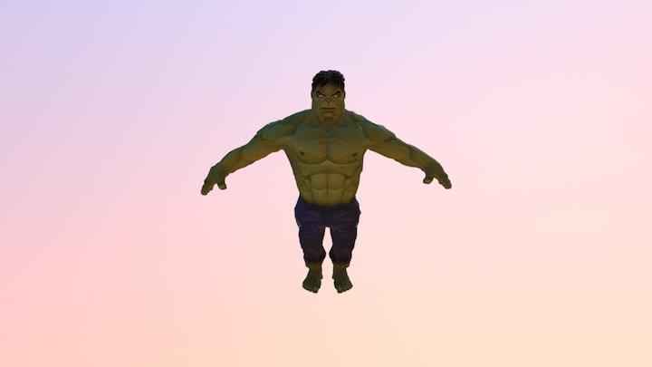 Hulk Model 3D
