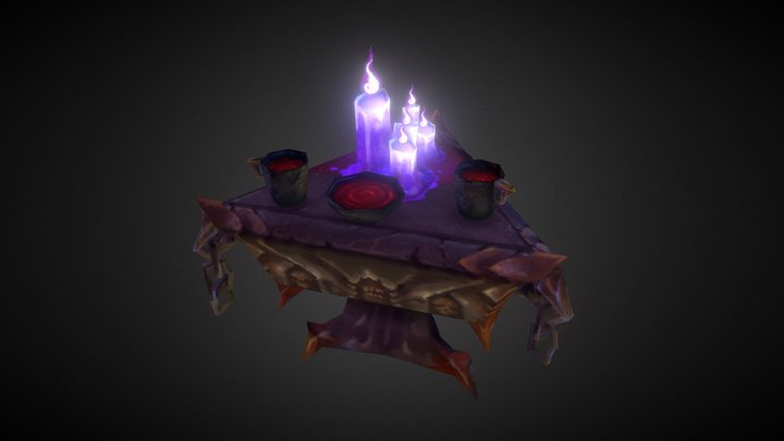 Blud Tea Party - Sketchfab challenge