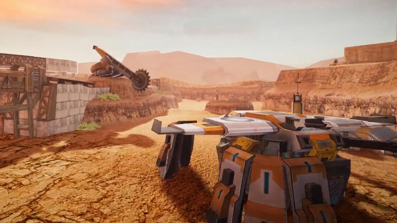 Tank Hit Game Scene