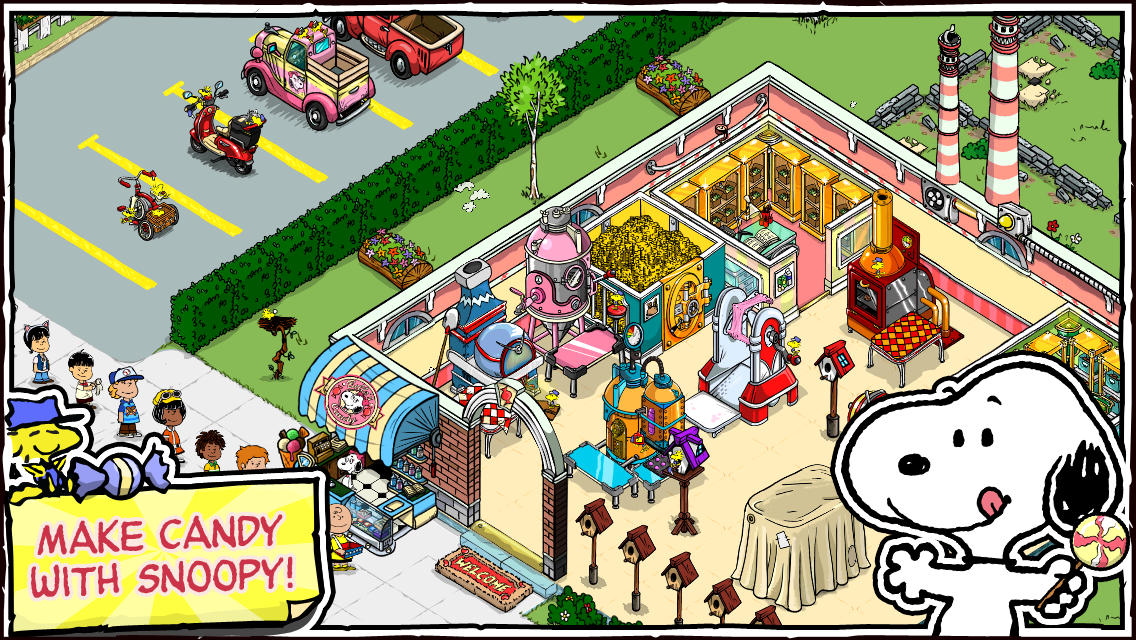 Snoopy's Candy town (Beeline Interactive)