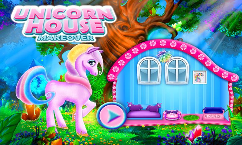 Unicorn House Decoration Game! DIY Dream Pet Home