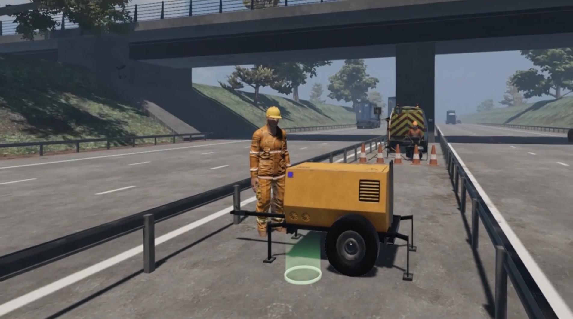 Motorway Maintenance - VR