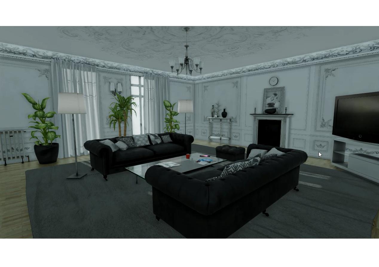 VR Room Simulation