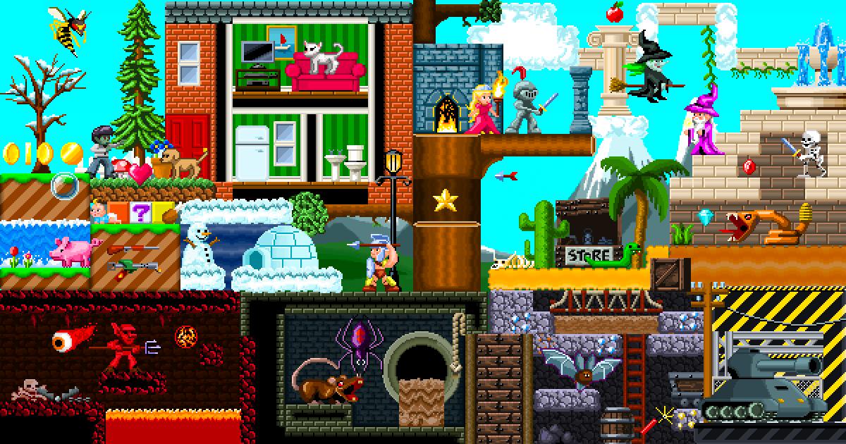 Pixel Art Wonderland