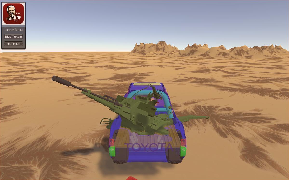 Toyota Blitzkrieg