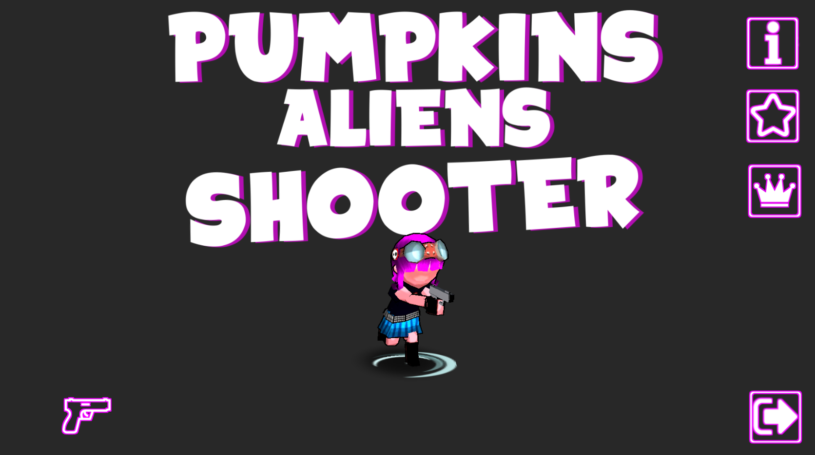 Pumkins Aliens shooter