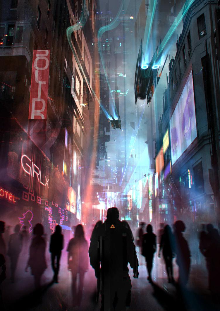 2D Environment Concept Art