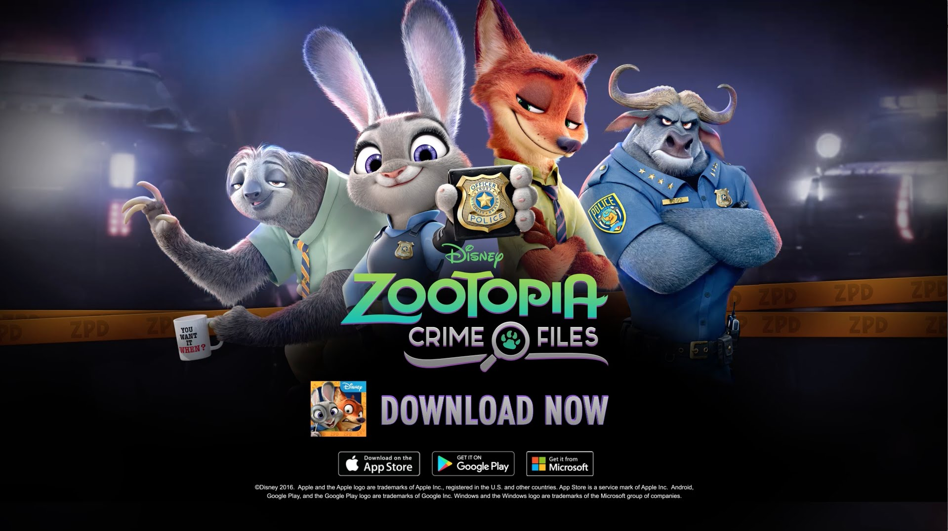 Zootopia Crime Files