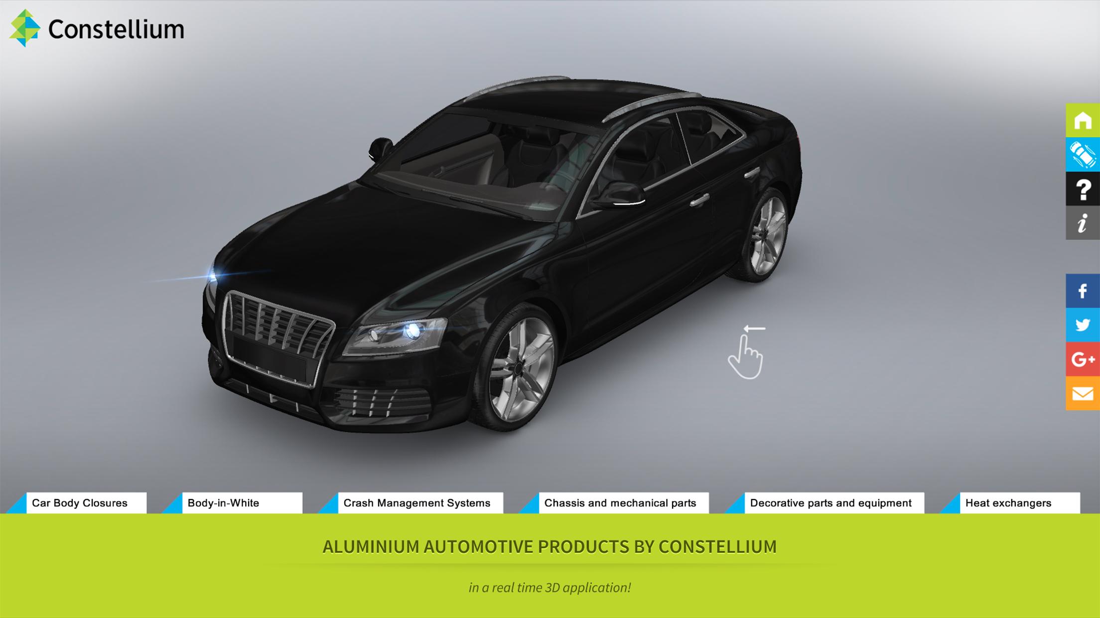 Constellium automotive products