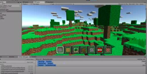 直播课程 | 使用ECS开发 《快乐的Minecraft》