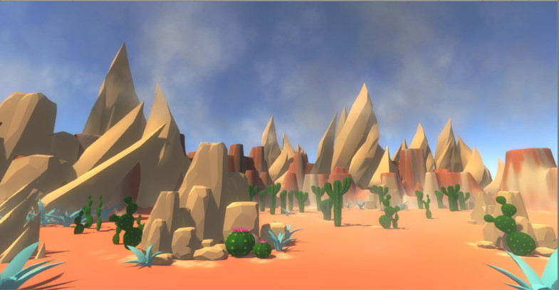 Polygon Desert Pack