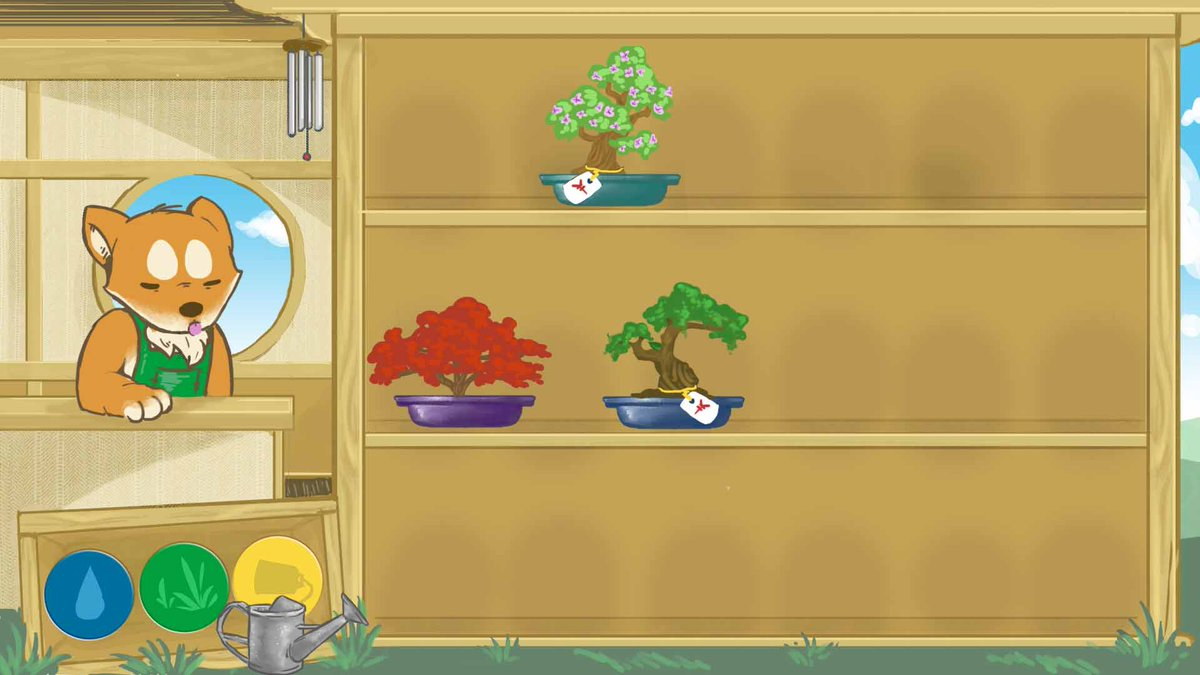 2D- Bonsai Tree Clicker Game