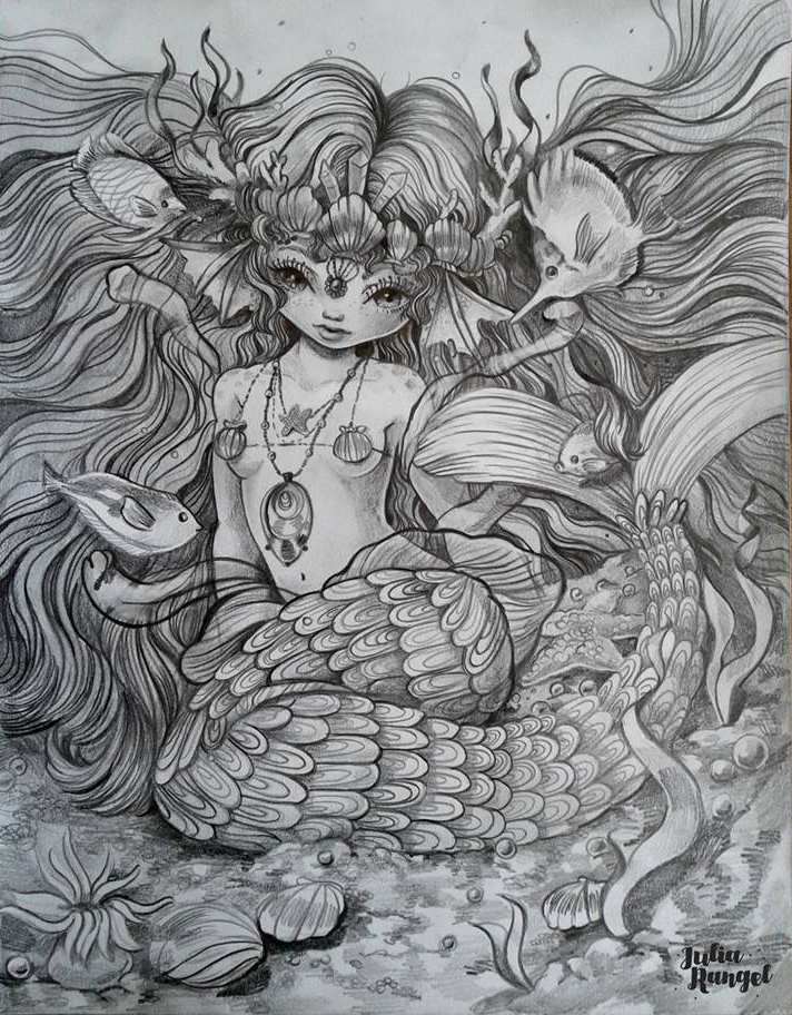 Mermay - illustration