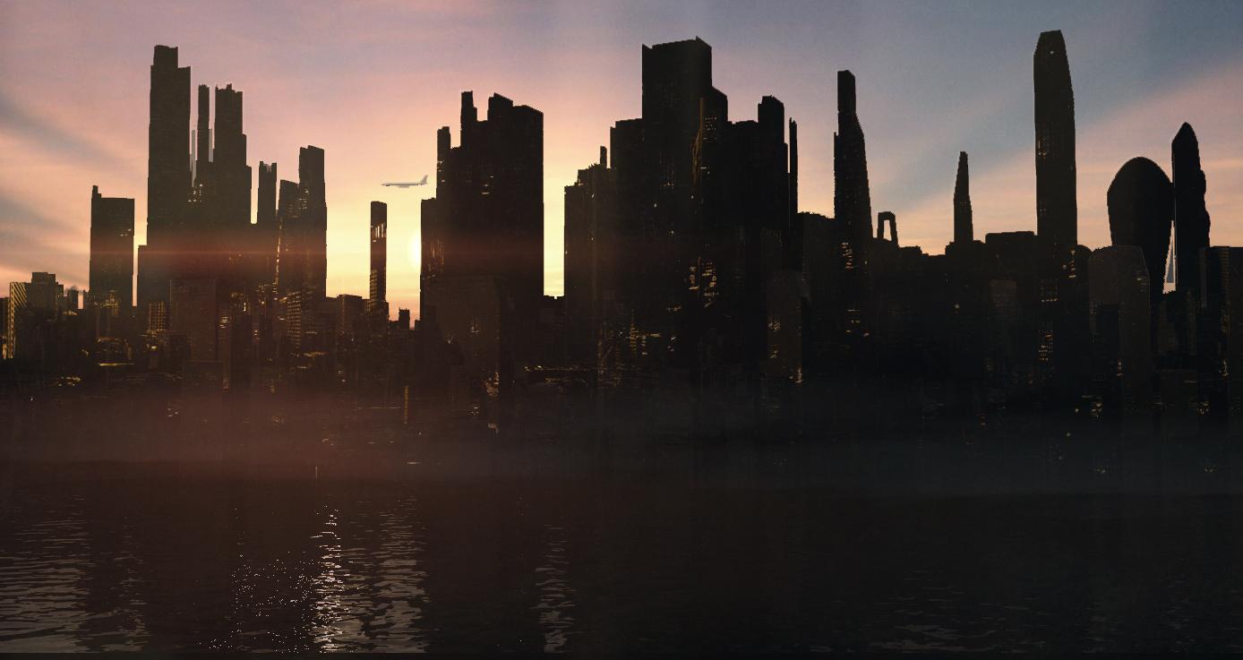 City - 3D Concept Art