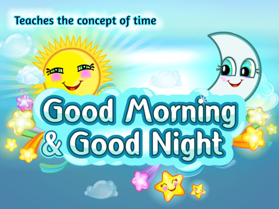 Good Morning & Good Night for Kids