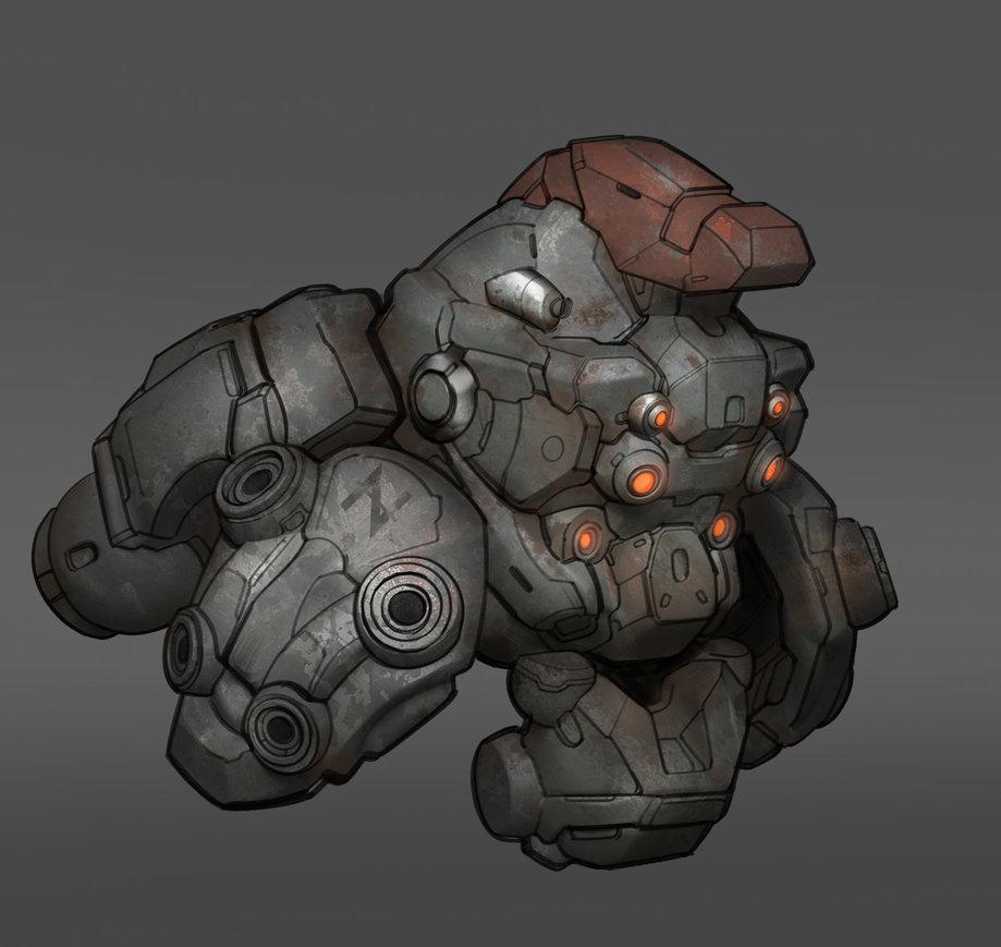 2D Armor Concept Art