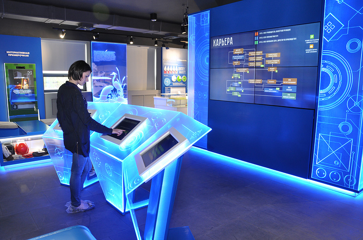 Interactive Network Wall