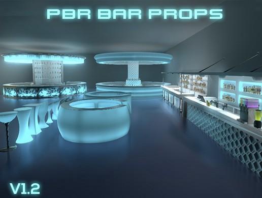 PBR Bar props