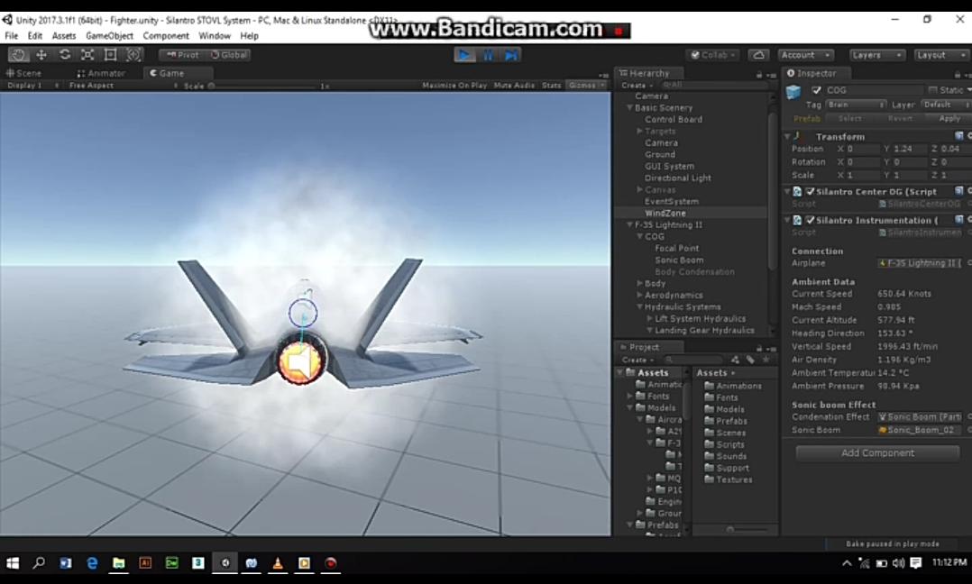 Silantro Flight Simulator: Supersonic Flight Tests