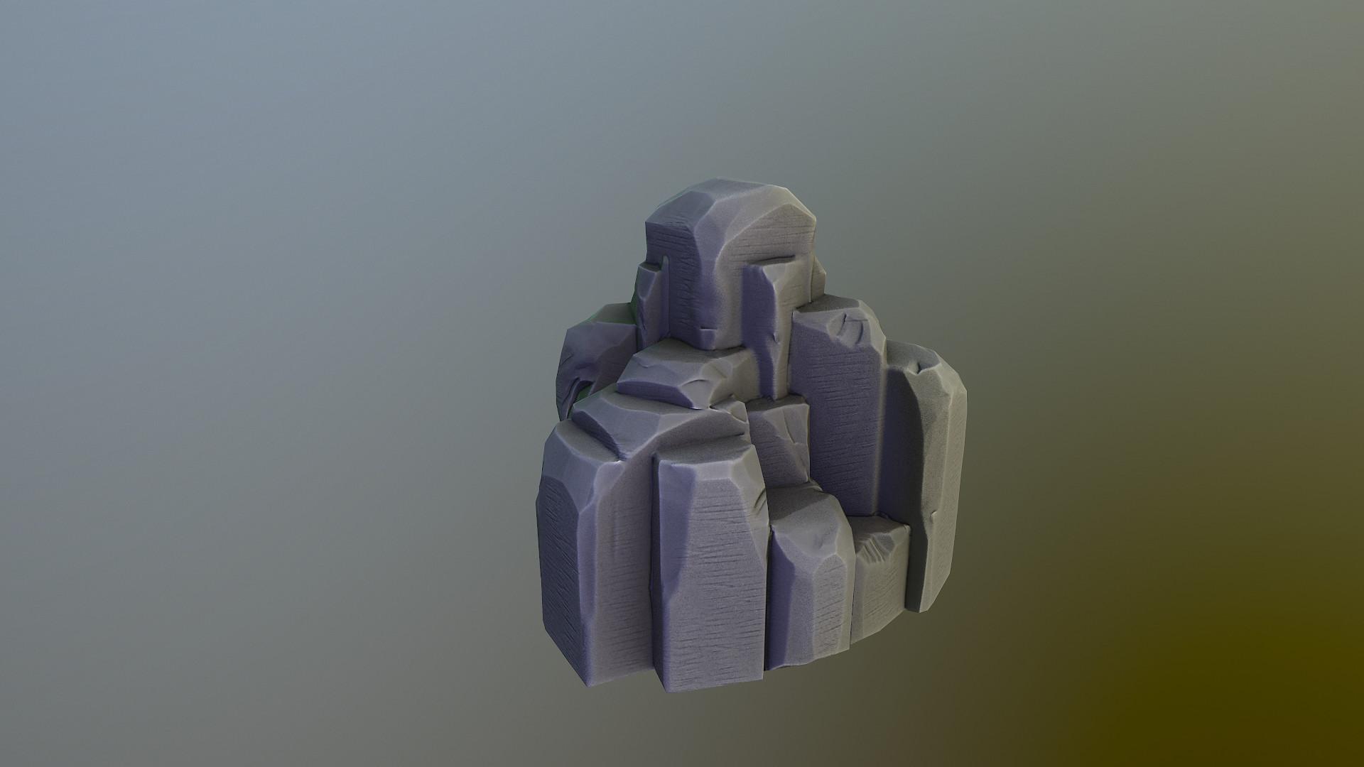 Stylized Rock