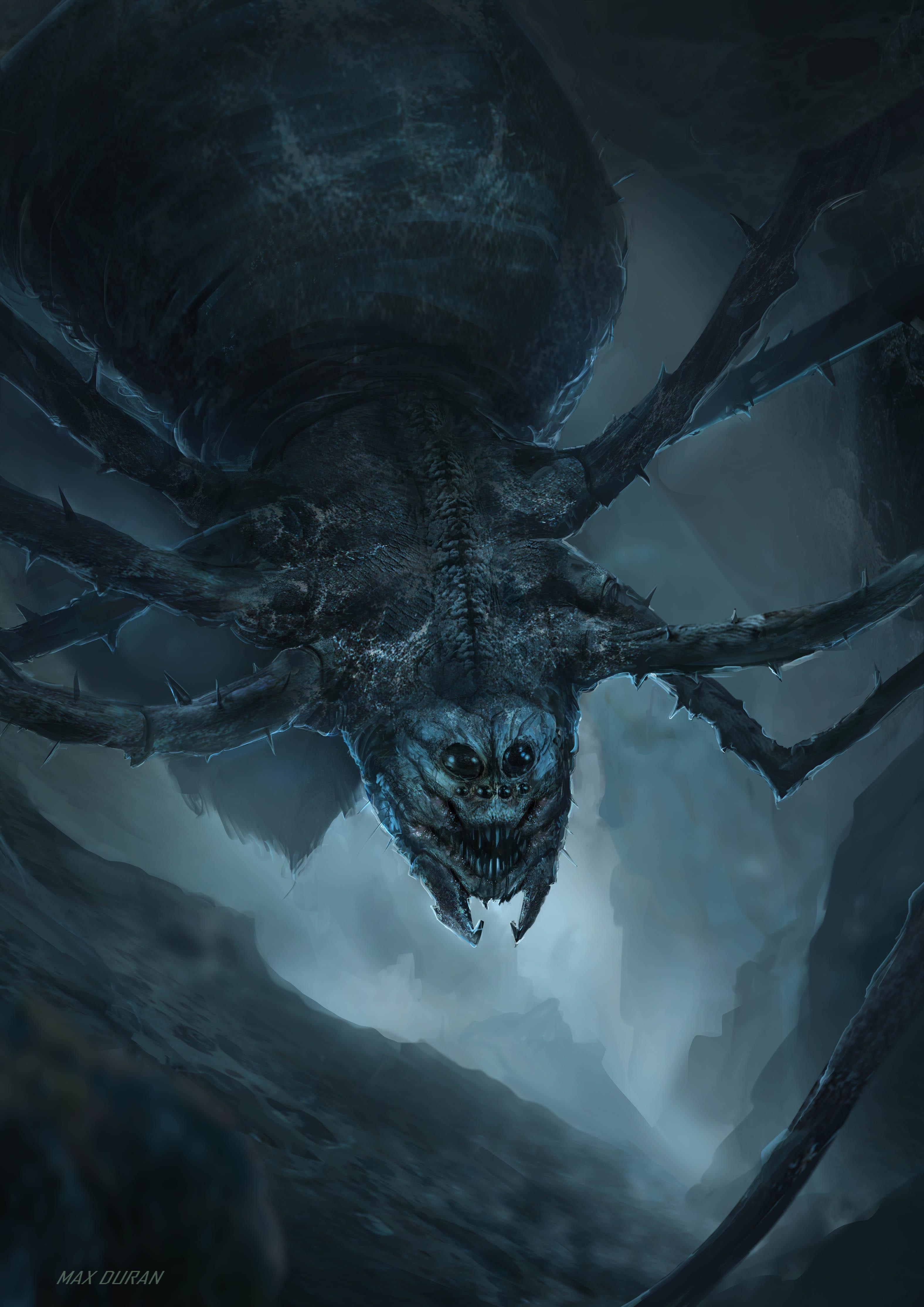 """Ungoliant """"Dark Spider"""" from J. R. R. Tolkien."""
