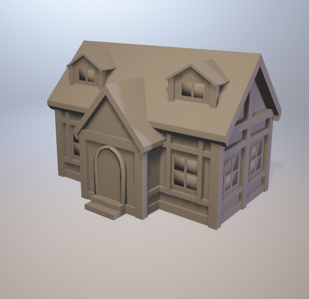 3d House pack