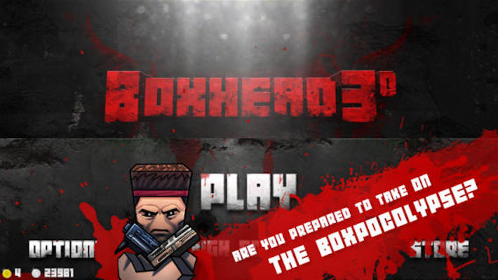 Boxhead: The Zombie Wars 3D