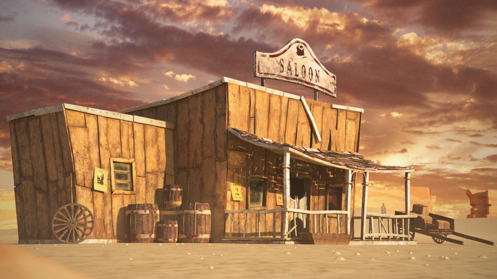 Old West 3D Assets