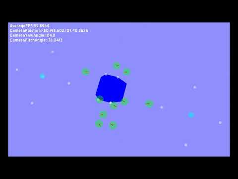 Sailing simulation with Recastnavigation