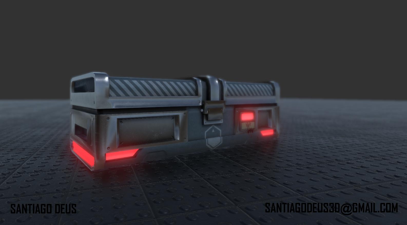 Sci Fi Loot Crate