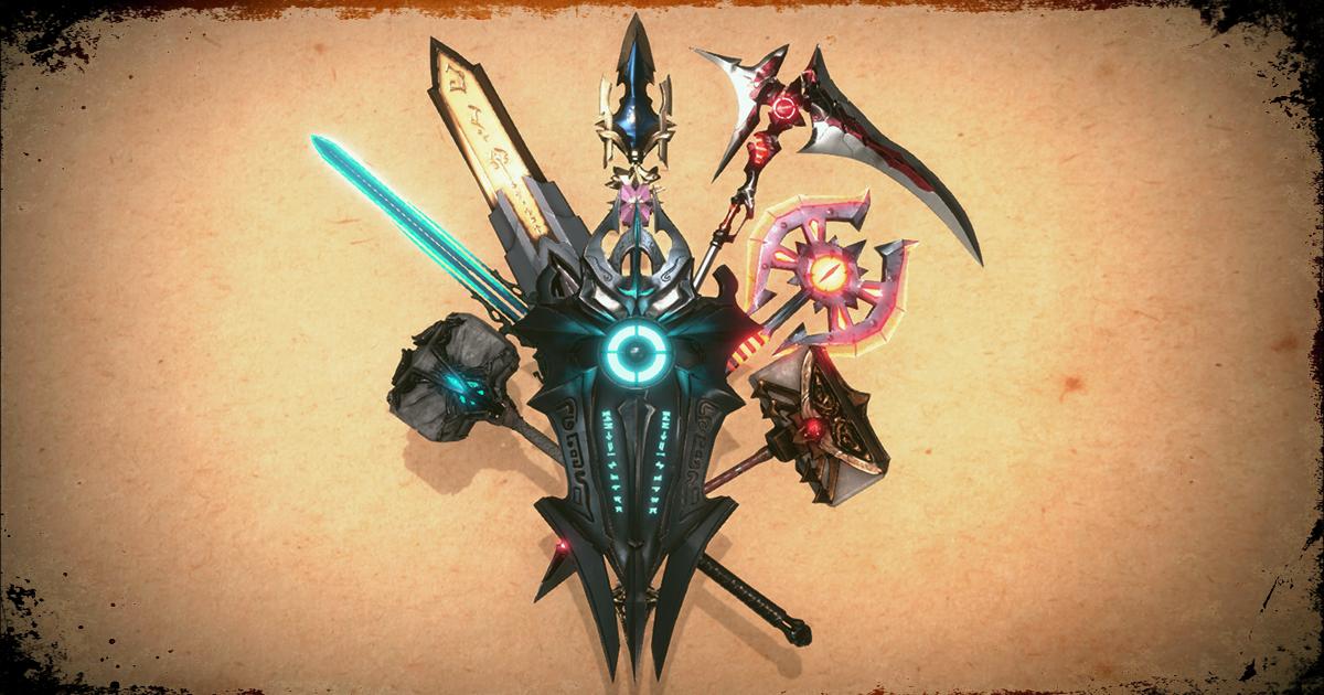 Fantasy Weapons Arsenal