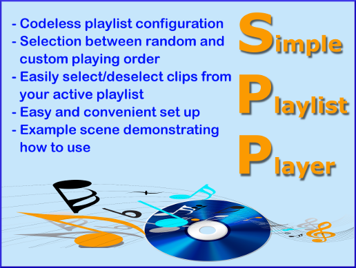 Simple Playlist Player (Asset)